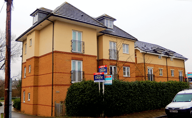 Apartment building near Welwyn Garden City